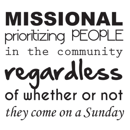 1 Missional